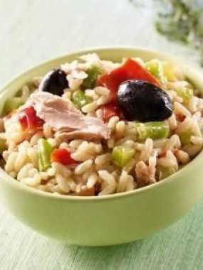 Salade Riz niçois au thon