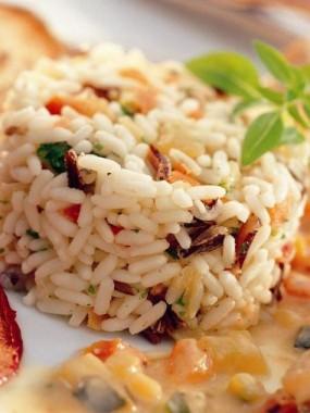 Timbale de riz camarguaise