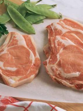 Côtes de porc 1ere