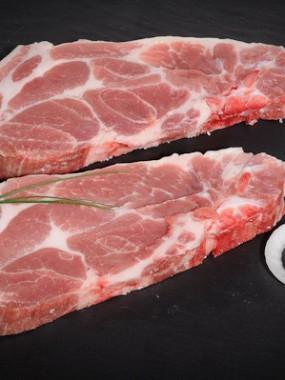 Côtes de porc échine