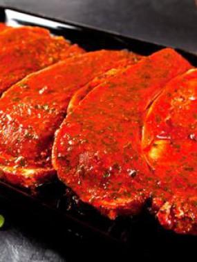 Rouelle de porc à la  provençale