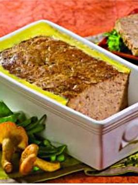 Terrine de foie gras Girolle