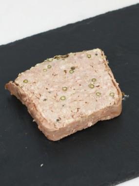Paté au poivre Vert
